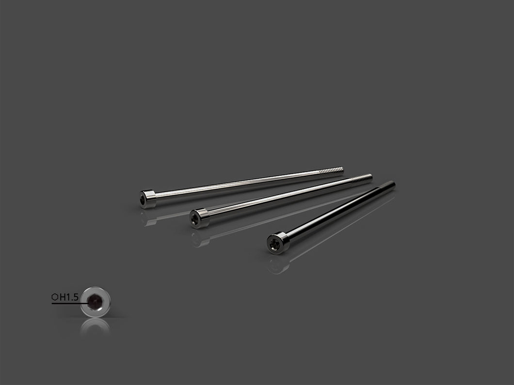 TR-T-OP80-H3 64 Titanium Motor Screws For Hobbywing V10 G3