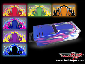 TR-MB-MA1 Mugen Off Road Starter Box Metallochrome Wave Pattern Radio Wrap ( Type A1 )  6colors