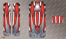 TR-MO-MA8 Mugen on Road Starter Box Metallochrome Wave Pattern Radio Wrap ( Type A8 ) 4colors