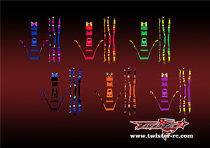 TR-380-MA1 Sky RC ITP380 Metallochrome Wave Pattern Wrap ( Type A1 ) 6 colors