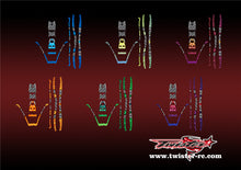 TR-380-MA3 Sky RC ITP380 Metallochrome Wave Pattern Wrap ( Type A3 ) 6 colors