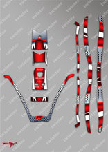 TR-380-MA8 Sky RC ITP380 Metallochrome Wave Pattern Radio Wrap ( Type A8 ) 4colors
