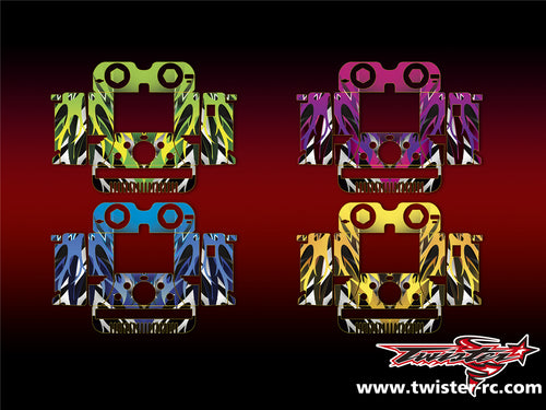 TR-406-MA2 iCharger 406DUO Metallochrome Wave Pattern Wrap ( Type A2 )