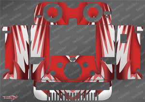TR-406-MA5 iCharger 406DUO Metallochrome Wave Pattern Radio Wrap ( Type A5 )