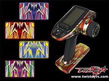 TR-4PV-MA4 Futaba 4PV Metallochrome Wave Pattern Radio Wrap ( Type A4 ) 4colors