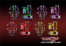 TR-4PM-MA8 Futaba 4PM Metallochrome Wave Pattern Radio Wrap ( Type A8 ) 4colors