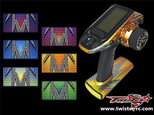 TR-4PV-MA3 Futaba 4PV Metallochrome Wave Pattern Radio Wrap ( Type A3 )