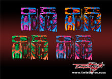 TR-4S-MA7 Hitec LYNX 4S Metallochrome Wave Pattern Radio Wrap ( Type A7 ) 4colors
