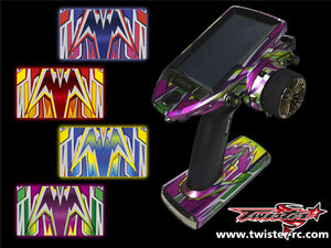 TR-7PX-MA4 Futaba 7PX Metallochrome Wave Pattern Radio Wrap ( Type A4 ) 4colors