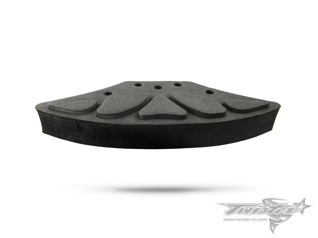 TR-118-Y Extra Hard Foam Bumper +6mm ( For Yokomo BD7/BD7'16/BD8/BD8'18 )