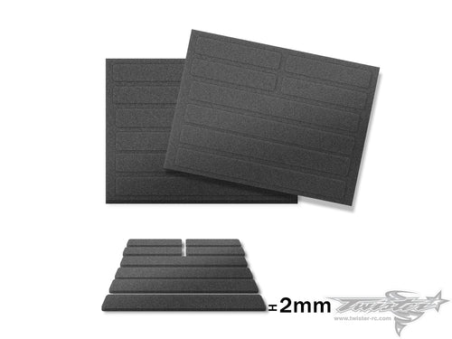 TR-AC114 2mm/5mm Body Support Foam ( 2pcs.)