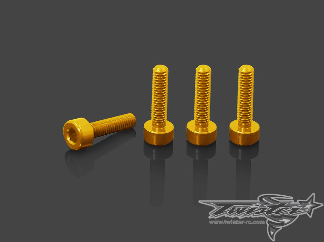 TR-AC86 7075-T6 Anodized Screws for Futaba 4PX/7PX/7PXR