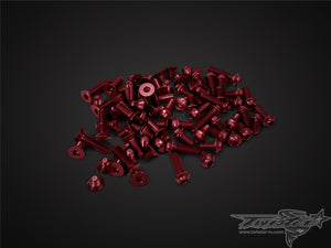 TR-ALSU-IF14-R 7075-T6 Red Screw set(UFO Head) ( For INFINITY IF14 )