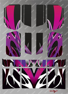 TR-BE-MA2 Beta Wing Metallochrome Wave Pattern Wrap ( Type A2 )