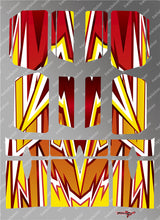 TR-BE-MA4 Beta Wing Metallochrome Wave Pattern Wrap ( Type A4 )