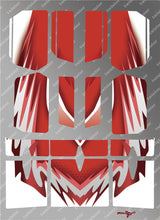 TR-BE-MA5 Beta Wing Metallochrome Wave Pattern Radio Wrap ( Type A5 )