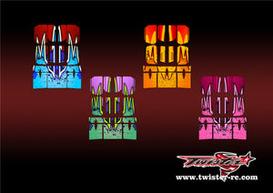 TR-BE-MA9 Beta Wing Metallochrome Wave Pattern Radio Wrap ( Type A9 ) 4 colors