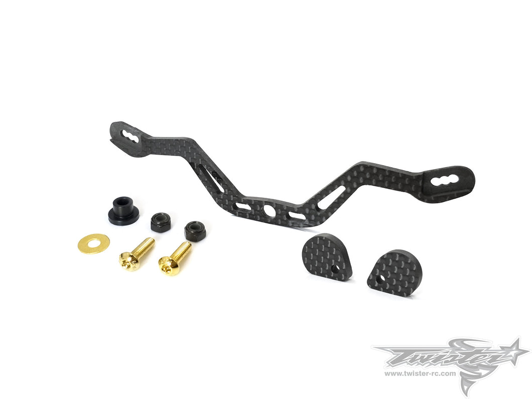 TR-EP100A-T301 Graphite Support Arms For Tamiya T301