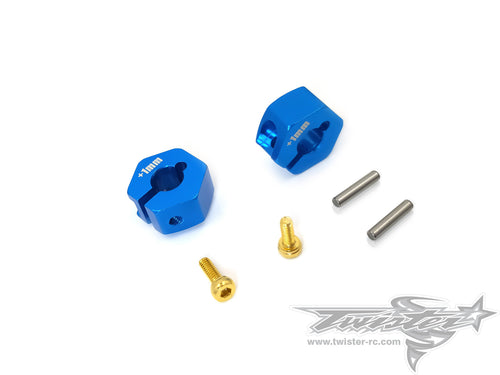 TR-EP100H-T301 Clip 12mm Wheel Adapter +1mm( Tamiya T301 )