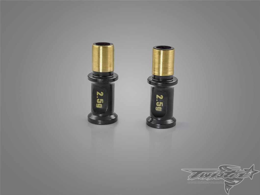 TR-EP180 Brass Steering Post ( For Xray T4'17/T4'18 ) 2pcs. Each 2.5g