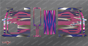 TR-GMC-MA1 GM Polaron EX Charger Metallochrome Wave Pattern Wrap ( Type A1 )