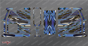 TR-GMC-MA2 GM Polaron EX Charger Metallochrome Wave Pattern Wrap ( Type A2)