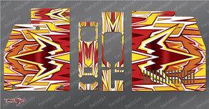 TR-GMC-MA4 GM Polaron EX Charger Metallochrome Wave Pattern Radio Wrap ( Type A4 ) 4colors