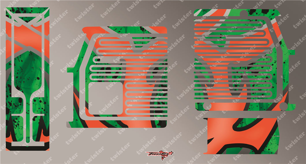TR-GMC-MA7 GM Polaron EX Charger Metallochrome Wave Pattern Radio Wrap ( Type A7 )4Colors