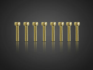 TR-GST-H Gold Plated M3 Hex. Socket Head Screws