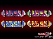 TR-K3W-MA4 Kyosho MP9 TKI3 Wing Metallochrome Wave Pattern Wrap ( Type A4 ) 4color