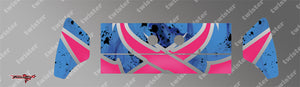 TR-K3W-MA7 Kyosho MP9 TKI3 Wing Metallochrome Wave Pattern Radio Wrap ( Type A7 )4Colors