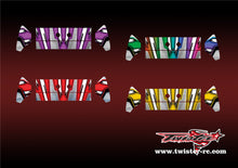 TR-K3W-MA8 Kyosho MP9 TKI3 Wing Metallochrome Wave Pattern Radio Wrap ( Type A8 ) 4colors