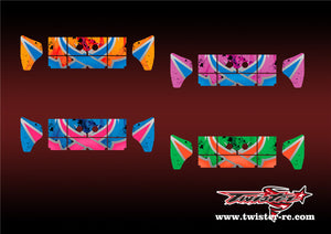 TR-K4W-MA7 Kyosho MP9 TKI4 Wing Metallochrome Wave Pattern Radio Wrap ( Type A7 )4Colors