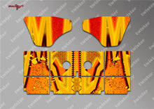 TR-K4W-MA9 Kyosho MP9 TKI4 Wing Metallochrome Wave Pattern Radio Wrap ( Type A9 )  4 colors