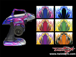 TR-M12-MA1 Sanwa M12 Metallochrome Wave Pattern Radio Wrap ( Type A1 )6 color