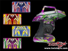 TR-M12-MA4 Sanwa M12 Metallochrome Wave Pattern Radio Wrap ( Type A4 ) 4colors
