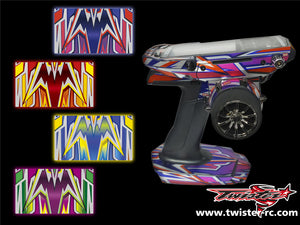TR-M17-MA4 Sanwa M17 Metallochrome Wave Pattern Radio Wrap ( Type A4 ) 4colors