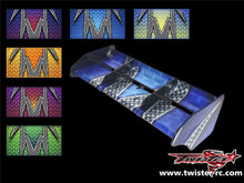 TR-M8W-MA3 Mugen MBX8 Wing Meter Metallochrome Wave Pattern Wrap ( Type A3 ) 6 colors