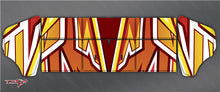 TR-M8W-MA4 Mugen MBX8 Wing Metallochrome Wave Pattern Wrap ( Type A4 ) 4color