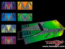 TR-MB-MA3 Mugen Off Road Starter Box Metallochrome Wave Pattern Wrap ( Type A3 )