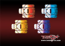 TR-MB-MA6 Mugen Off Road Starter Box Metallochrome Wave Pattern Wrap( Type A6 )4 Colors