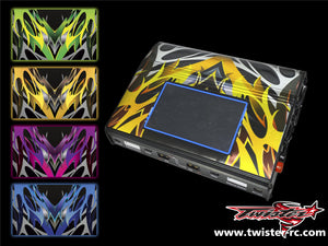TR-MMC-MA2 Muchmore Hybrid Touch Duo Charger Metallochrome Wave Pattern Wrap ( Type A2 )