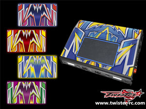 TR-MMC-MA4 Muchmore Hybrid Touch Duo Charger Metallochrome Wave Pattern Radio Wrap ( Type A4 ) 4colors