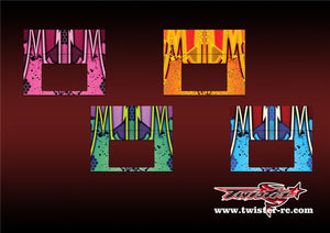 TR-MMC-MA9 Muchmore Hybrid Touch Duo Charger Metallochrome Wave Pattern Radio Wrap ( Type A9 ) 4 colors
