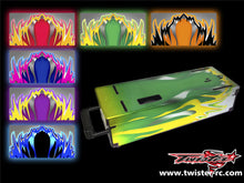 TR-MO-MA1 Mugen On Road Starter Box Metallochrome Wave Pattern Wrap ( Type A1 )