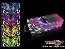TR-MB-MA2 Mugen Off Road Starter Box Metallochrome Wave Pattern Wrap( Type A2 ) 4colors