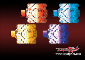 TR-MO-MA6 Mugen On Road Starter Box Metallochrome Wave Pattern Wrap( Type A6 )4 Colors