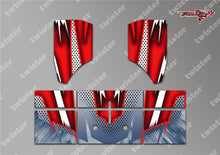 TR-NBW-MA8 Tekno NB48 2.0 Wing Metallochrome Wave Pattern Radio Wrap ( Type A8 ) 4colors