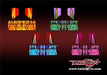 TR-NBW-MA9 Tekno NB48 2.0 Wing Metallochrome Wave Pattern Radio Wrap ( Type A9 ) 4 colors