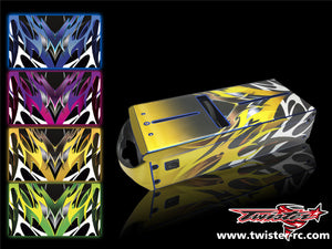 TR-QW-MA2 Q-World Starter Box Metallochrome Wave Pattern Wrap( Type A2 ) 4colors